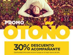30% DESCUENTO EN EL ACOMPAÑANTE